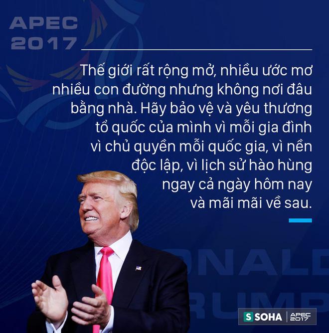 Toàn văn phát biểu của Tổng thống Mỹ Donald Trump tại APEC CEO Summit Việt Nam 2017 - Ảnh 4.