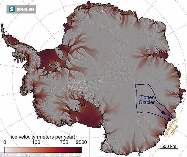 Kẻ khổng lồ ngủ yên ở Nam Cực sẽ thức giấc và khiến mực nước biển dâng cao hơn 3,4 m! - Ảnh 2.