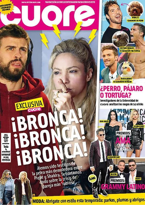 Shakira bật khóc khi cãi nhau với Pique trước mặt hai con trai - Ảnh 1.