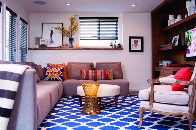 10 phòng khách nhỏ nhưng đẹp và vô cùng ấm cúng khiến bạn yêu từ cái nhìn đầu tiên - Ảnh 7.