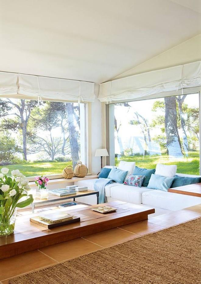 10 phòng khách nhỏ nhưng đẹp và vô cùng ấm cúng khiến bạn yêu từ cái nhìn đầu tiên - Ảnh 8.