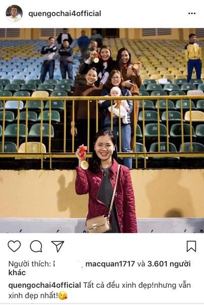 Fan nữ 'khóc hận' khi Quế Ngọc Hải đăng ảnh selfie cùng vợ tương lai - Ảnh 1.