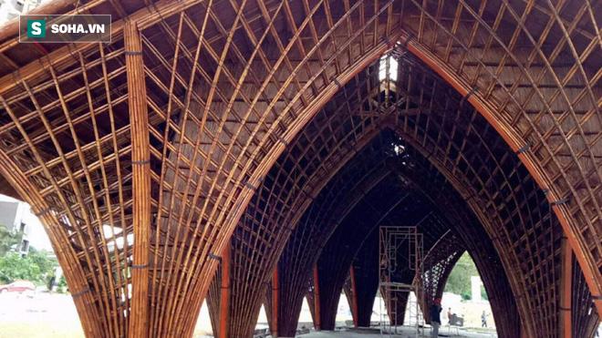 Nhà hàng tre của kiến trúc sư Việt đang xây dở đã lên tạp chí danh tiếng - Ảnh 2.