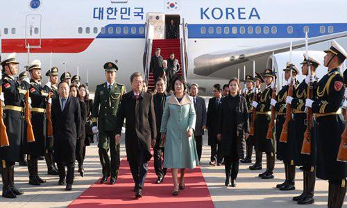 Báo Hàn Quốc: TQ ghi thù THAAD nên cử đại diện về Triều Tiên ra đón TT Moon Jae-in - Ảnh 1.