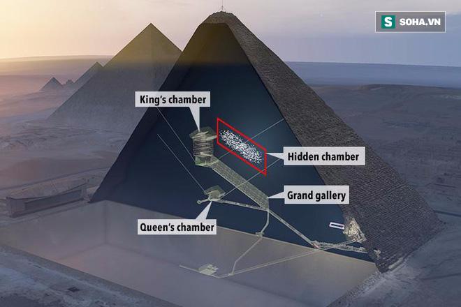 Các nhà khoa học chế tạo robot thám hiểm căn phòng bí ẩn trong kim tự tháp Giza 4.500 tuổi - Ảnh 1.