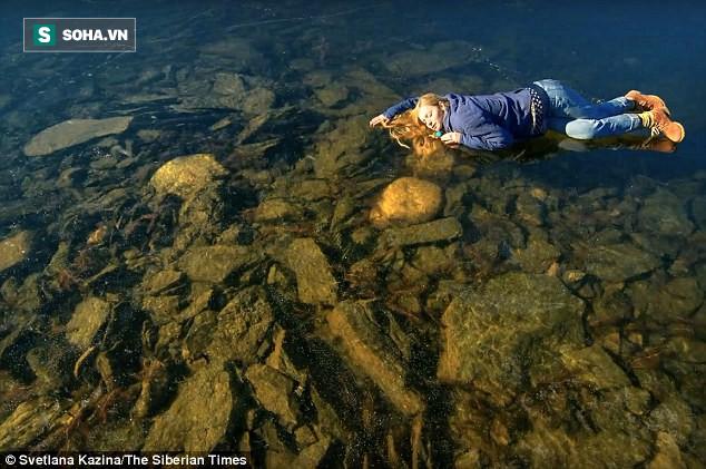 Hồ nước đóng băng ở Siberia phát ra âm thanh đáng sợ, tựa như ngoài hành tinh - Ảnh 3.