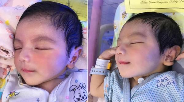 Em bé sơ sinh đẹp từ 'trong trứng' và chân dung bố mẹ càng làm cư dân mạng 'choáng' hơn - Ảnh 2.