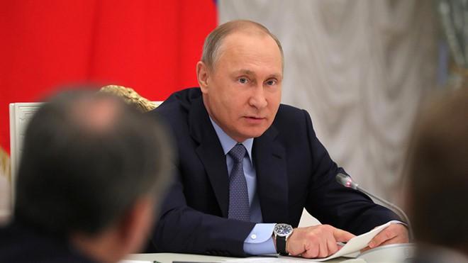 """Ông Putin """"lên dây cót"""" giới tình báo trước thềm bầu cử - Ảnh 1."""