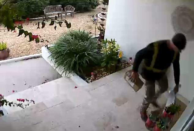 Hàng giao đến nhà chưa kịp nhận đã bị lấy cắp, cô gái tá hỏa phát hiện kẻ trộm lại chính là người này - Ảnh 1.