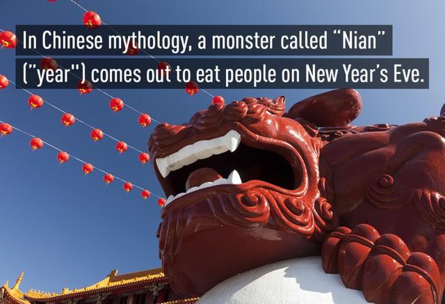 Quái thú Nian - Nỗi ám ảnh đáng sợ mỗi dịp năm mới gần kề của Trung Quốc - Ảnh 4.