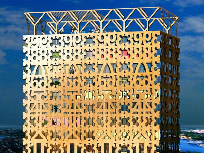 Không phải bê tông hay sắt thép, các tòa nhà chọc trời trong tương lai sẽ được xây dựng hoàn toàn từ... gỗ - Ảnh 9.