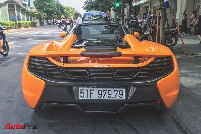 McLaren 650S Spider từng của Minh Nhựa tái xuất trên đường phố Sài Gòn - Ảnh 10.