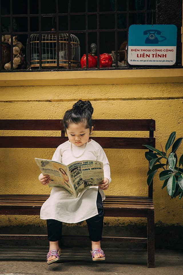 Đây chính là cô Ba Sài Gòn phiên bản 2,5 tuổi cưng hết sảy khiến dân mạng phát cuồng - Ảnh 12.