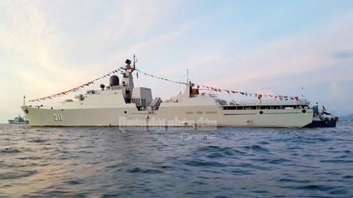 Tàu Hải quân Việt Nam tham gia diễn tập biển đa phương - Ảnh 13.