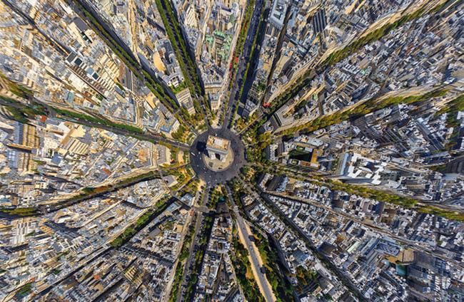 Chùm ảnh những địa danh đẹp nổi tiếng thế giới nhìn từ trên cao - Ảnh 13.
