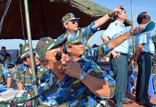 Sư đoàn Không quân 370 thực hành diễn tập bắn đạn thật - Ảnh 14.