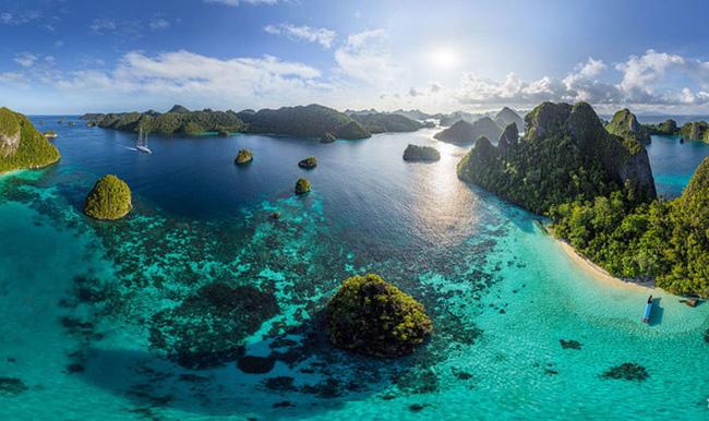 Chùm ảnh những địa danh đẹp nổi tiếng thế giới nhìn từ trên cao - Ảnh 14.