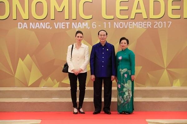 Áo tơ tằm Tổng thống Trump và lãnh đạo APEC mặc dự tiệc có gì đặc biệt - Ảnh 14.