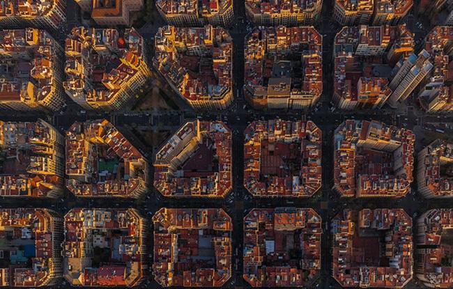 Chùm ảnh những địa danh đẹp nổi tiếng thế giới nhìn từ trên cao - Ảnh 15.