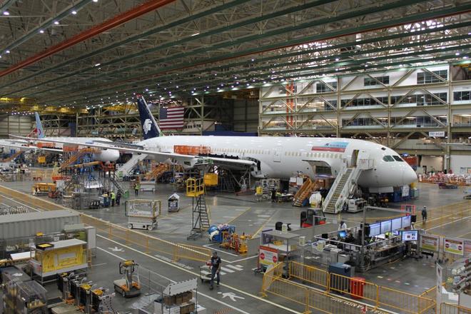 Dạo một vòng quanh nhà máy sản xuất máy bay lớn nhất của Boeing - Ảnh 19.