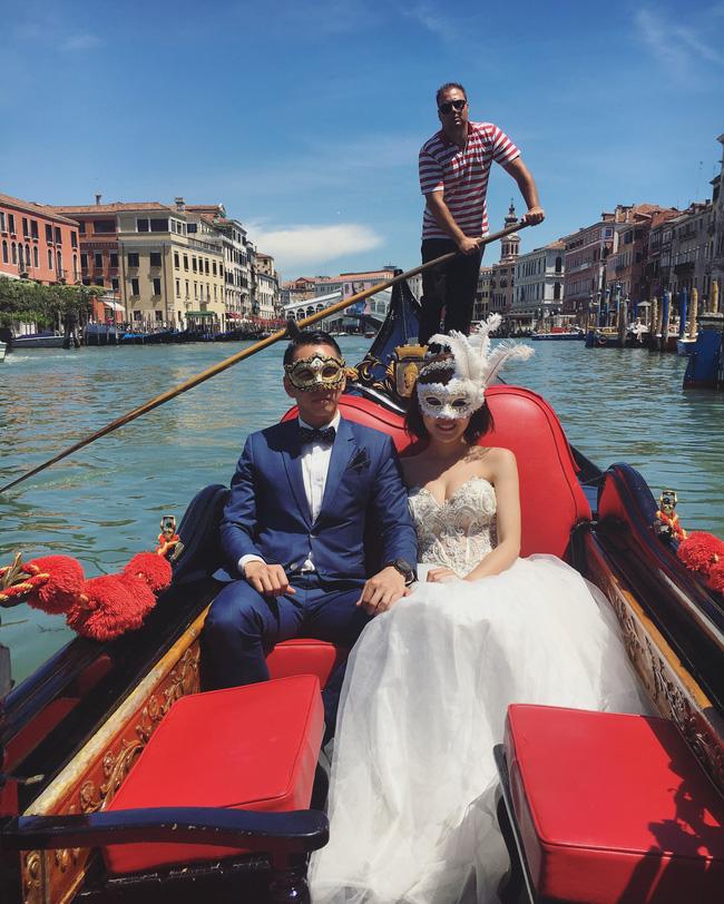 Tú Linh M.U khoe ảnh cưới cực hạnh phúc và lãng mạn được chụp ở 3 nước - Ảnh 3.