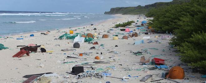 Hòn đảo ở Nam Thái Bình Dương này là nơi bị ô nhiễm rác thải nhựa nặng nhất trên thế giới - Ảnh 2.