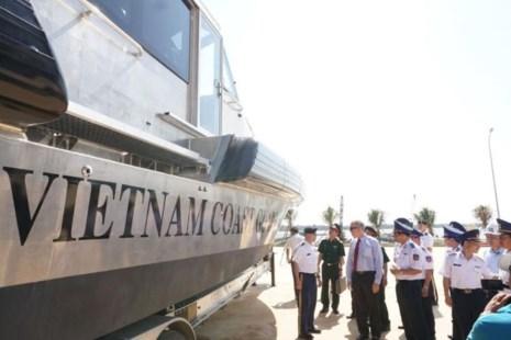 Mỹ bàn giao cho Cảnh sát biển Việt Nam 6 tàu tuần tra - Ảnh 3.