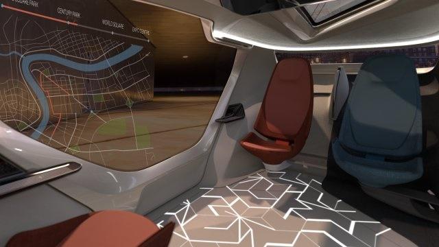NEVS InMotion: xe tự lái kết hợp... văn phòng làm việc - Ảnh 2.