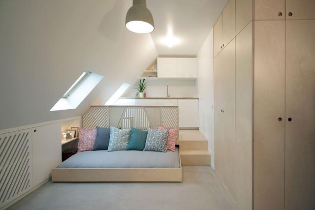 Thiết kế nội thất của căn nhà nhỏ 15m2 khiến ai cũng ao ước - Ảnh 3.