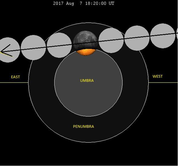 Sự thật về những bức hình trăng máu được cho là của hiện tượng nguyệt thực 1 phần tối qua - Ảnh 3.