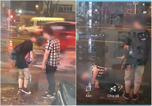 Hơn cả phim Hàn Quốc: Cặp đôi cãi nhau dưới mưa, chàng trai bất ngờ giả ngất để níu kéo bạn gái! - Ảnh 3.