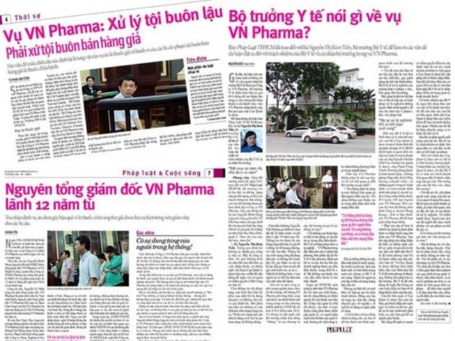 Vụ VN Pharma: Thanh tra Chính phủ chính thức vào cuộc - Ảnh 3.