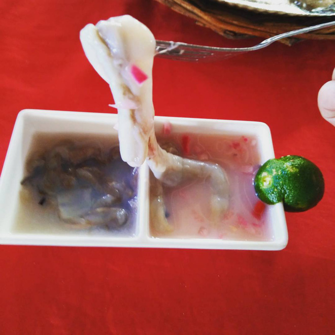 4 món đặc sản châu Á phải ăn sống, nuốt tươi, Việt Nam cũng góp mặt 1 món - Ảnh 3.