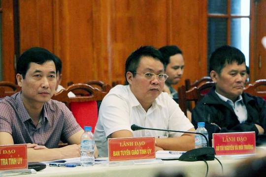 Chủ tịch Yên Bái nói về việc điều ông Phạm Sỹ Quý sang HĐND - Ảnh 2.