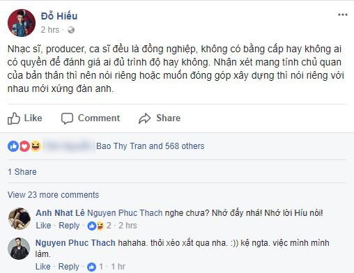 Nhận xét Miu Lê không đủ trình độ làm ca sĩ, Dương Cầm nhận gạch đá từ đồng nghiệp - Ảnh 3.
