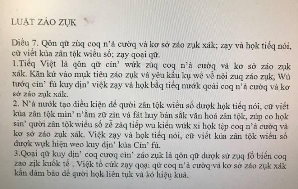 Tác giả đề xuất cải cách tiếng Việt, Luật giáo dục thành Luật záo zụk: Có người nói tôi rửng mỡ - Ảnh 2.