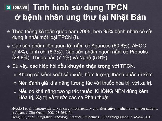 BS Việt tại Nhật bóc sự thật về TPCN trong điều trị ung thư: Tinh nghệ, Fucoidan, đông trùng hạ thảo - Ảnh 4.