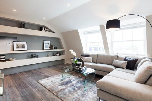 10 phòng khách nhỏ nhưng đẹp và vô cùng ấm cúng khiến bạn yêu từ cái nhìn đầu tiên - Ảnh 4.