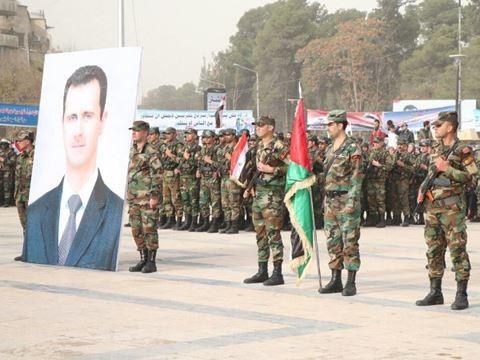 Syria: Hàng nghìn người xuống đường mừng lễ kỷ niệm 1 năm giải phóng Aleppo - Ảnh 2.