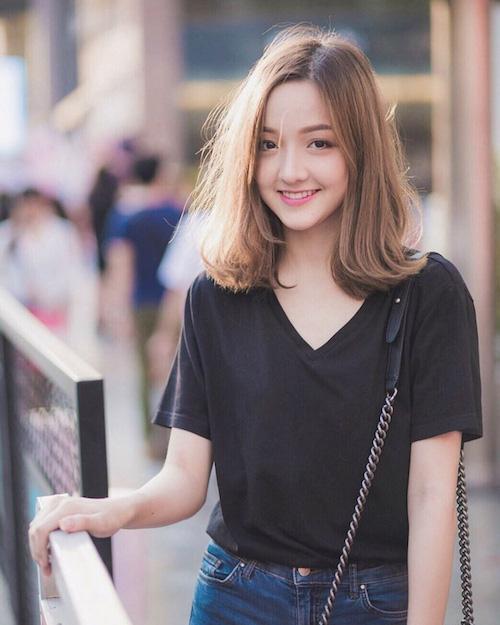Hot girl Thái Lan khiến cư dân mạng tan chảy vì nụ cười ngọt lịm như đường - Ảnh 10.