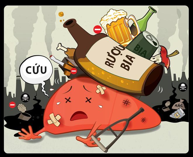 Báo động nhiều người mắc ung thư, teo não vì uống rượu - Ảnh 4.