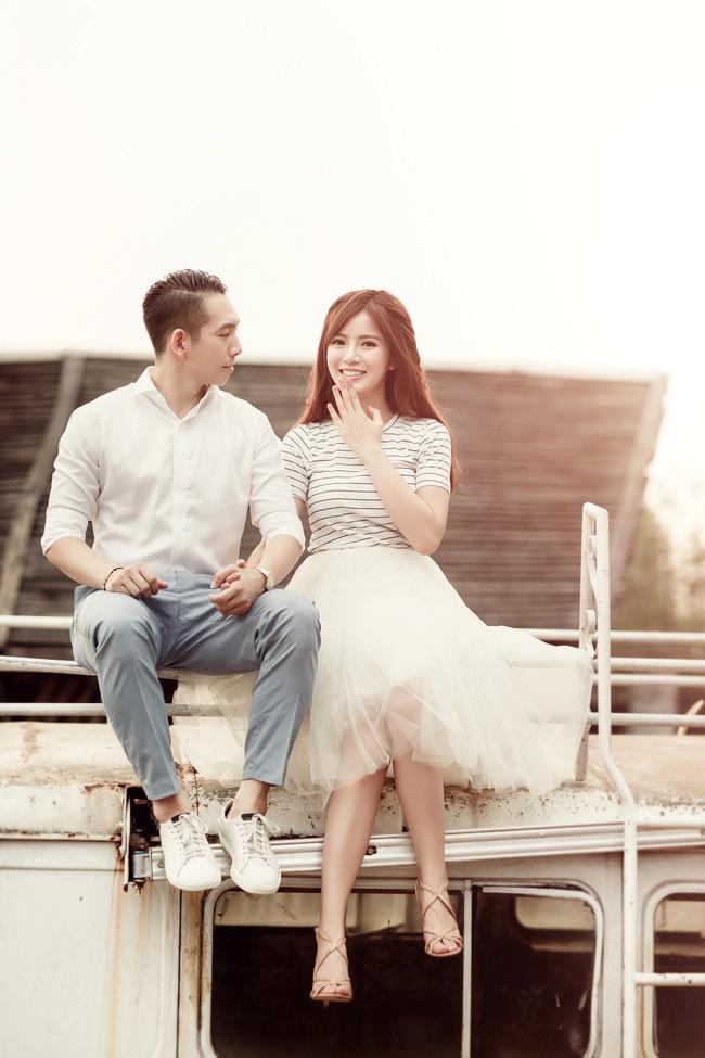 Tú Linh M.U khoe ảnh cưới cực hạnh phúc và lãng mạn được chụp ở 3 nước - Ảnh 4.
