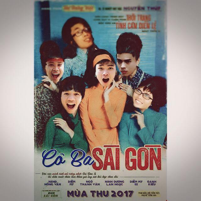 Không phải chờ lâu, dân mạng đã ngập tràn ảnh chế poster Cô ba Sài Gòn - Ảnh 4.