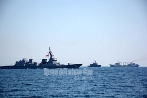 Tàu Hải quân Việt Nam tham gia diễn tập biển đa phương - Ảnh 4.