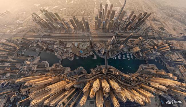 Chùm ảnh những địa danh đẹp nổi tiếng thế giới nhìn từ trên cao - Ảnh 4.