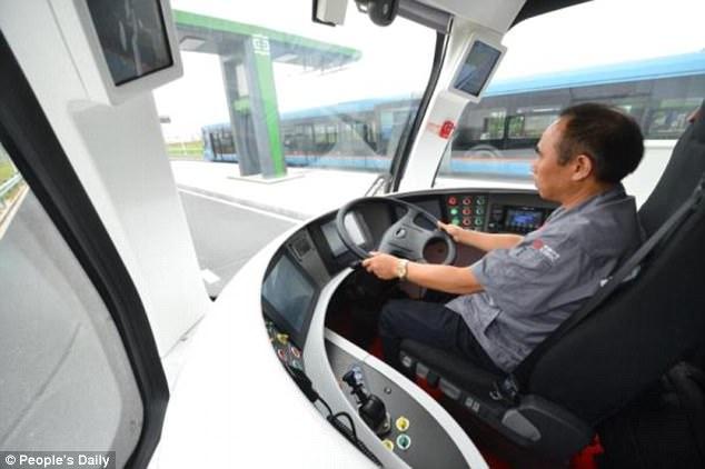 Tàu không cần đường ray - Thiết kế đường sắt tương lai đến từ Trung Quốc - Ảnh 4.