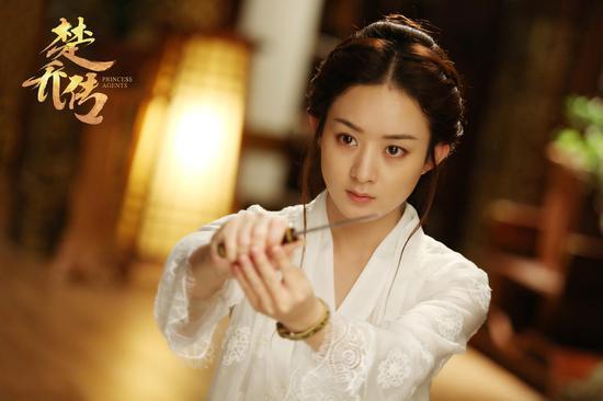 Nhan sắc xinh đẹp của ác nữ chuyên hãm hại Triệu Lệ Dĩnh trong Sở Kiều truyện - Ảnh 4.