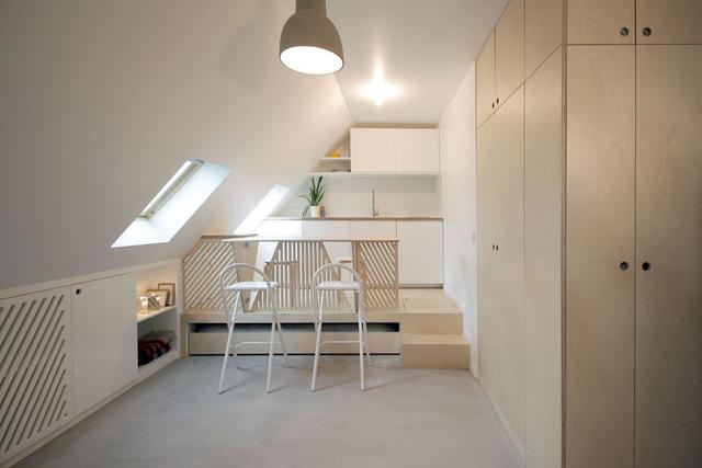 Thiết kế nội thất của căn nhà nhỏ 15m2 khiến ai cũng ao ước - Ảnh 4.