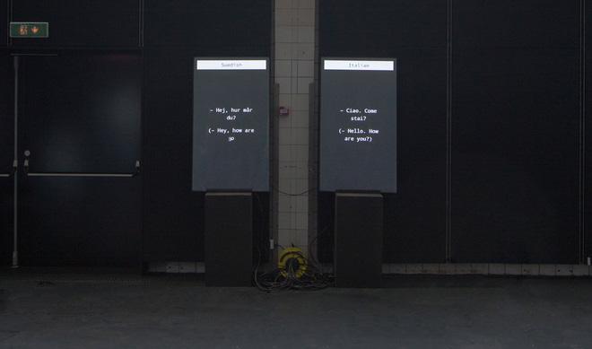 Xem hai con robot trò chuyện với nhau thông qua Google Dịch, vì một con dùng tiếng Ý và một con dùng tiếng Thụy Điển - Ảnh 2.
