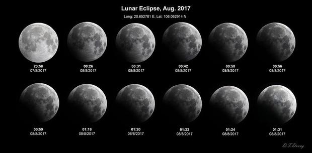 Sự thật về những bức hình trăng máu được cho là của hiện tượng nguyệt thực 1 phần tối qua - Ảnh 4.